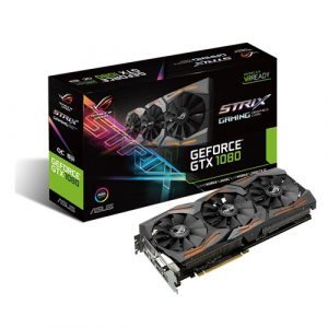 Asus ROG Strix GeForce GTX 1080 OC edition 8GB (STRIX-GTX1080-A8G-GAMING)