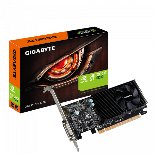 Gigabyte GeForce GT 1030 Low Profile 2G (GV-N1030D5-2GL)