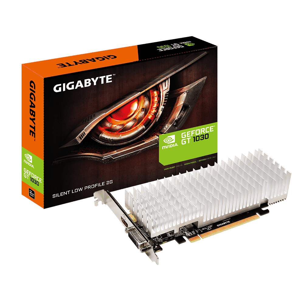 Gigabyte GeForce GT 1030 Silent Low Profile 2G