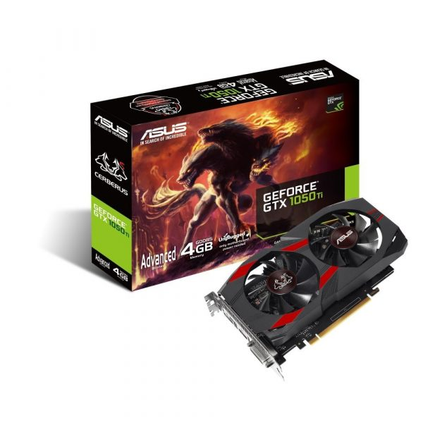 ASUS Cerberus GeForce GTX 1050 Ti Advanced Edition 4GB (CERBERUS-GTX1050TI-A4G)