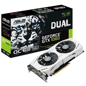 ASUS Dual series GeForce GTX 1060 OC edition 6GB (DUAL-GTX1060-O6G)