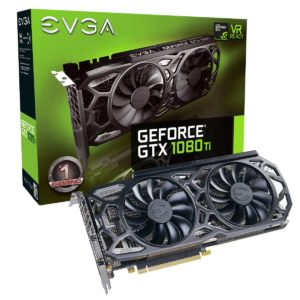 EVGA GeForce GTX 1080 Ti SC Black Edition Gaming 11GB (11G-P4-6393-KR)