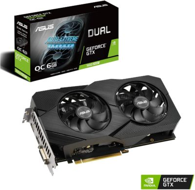 ASUS Dual GeForce GTX 1660 SUPER OC Edition 6GB