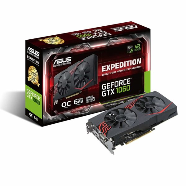 ASUS Expedition GeForce GTX 1060 OC edition 6GB