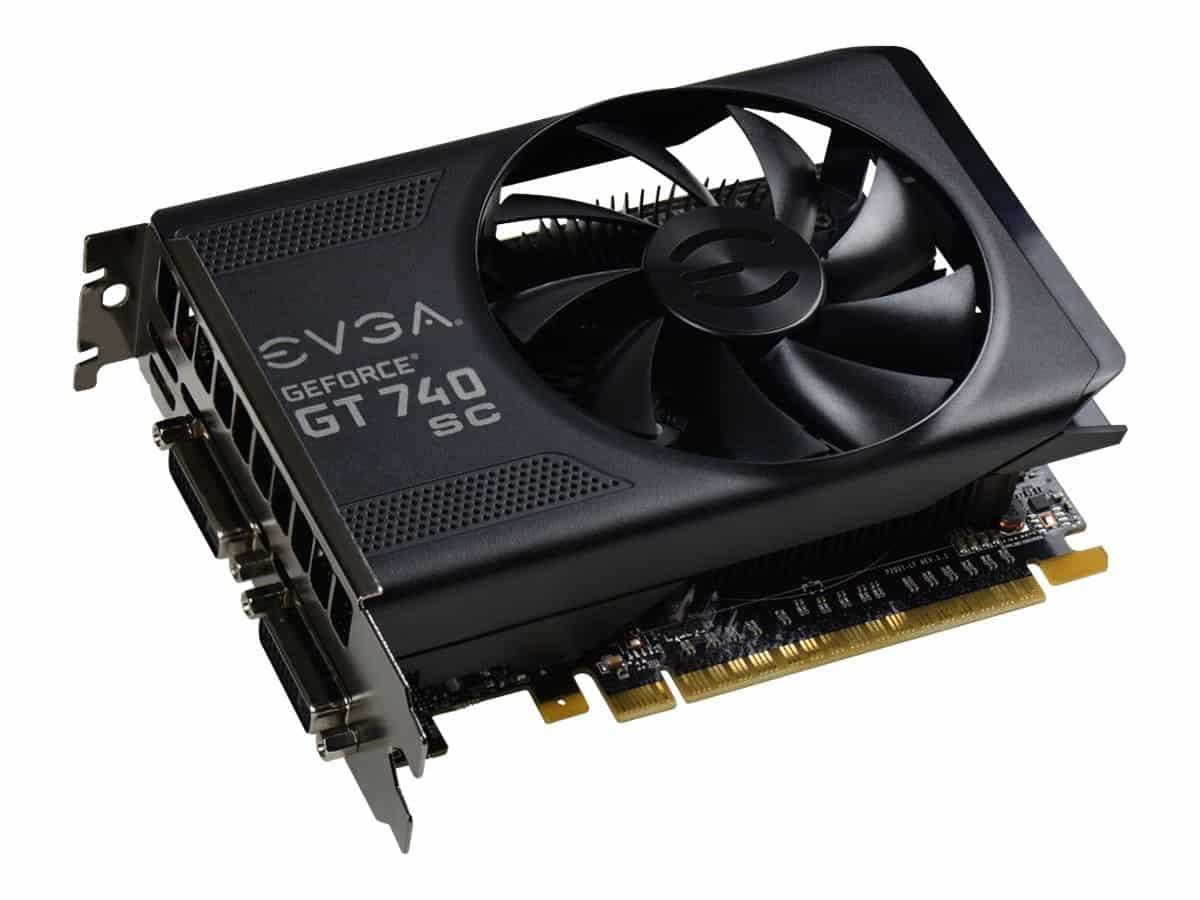EVGA GeForce GT 740 2GB GDDR5 Super Clocked