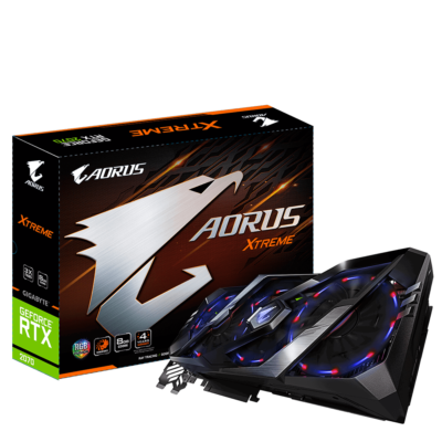 Gigabyte Aorus GeForce RTX 2070 Xtreme 8G Graphics Cards