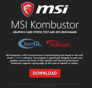 Kombustor Download Step 2