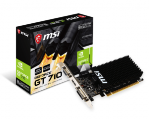 MSI Gaming GeForce GT 710 2GB GDRR3