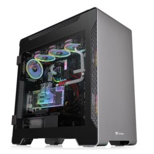 Thermaltake A700 Aluminium Tempered Glass Full Tower Case Vertical Graphics Card Mount