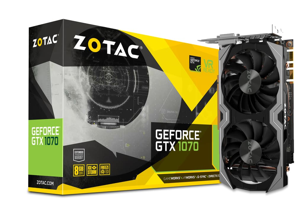 ZOTAC GeForce GTX 1070 8GB Mini